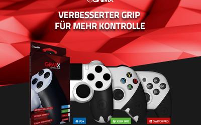 GHR eSports – GAIMX – GRABX – Werbung