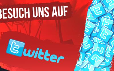 Wir sind auch auf Twitter!