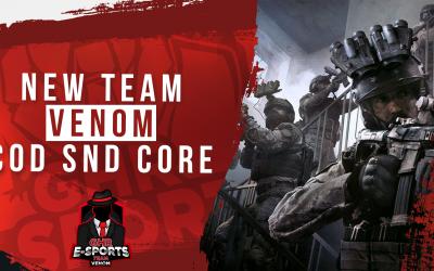 Neues CoD Team|Vorstellung – Team Venom