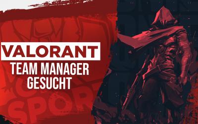 Valorant|Manager gesucht!