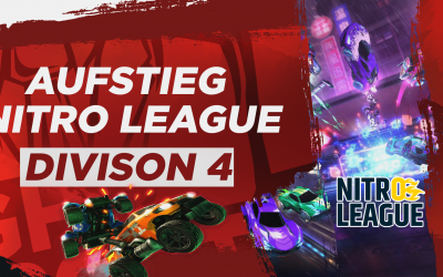 GHR eSports – Rocket League | Aufstieg in Div. 4 der Nitro League