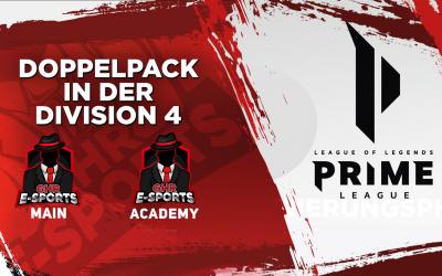 League of Legends | Main -und Academy Team | Start in der Prime League – Division 4