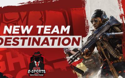Neues CoD Team|Vorstellung – Team Destination