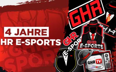 4 Jahre GHR eSports