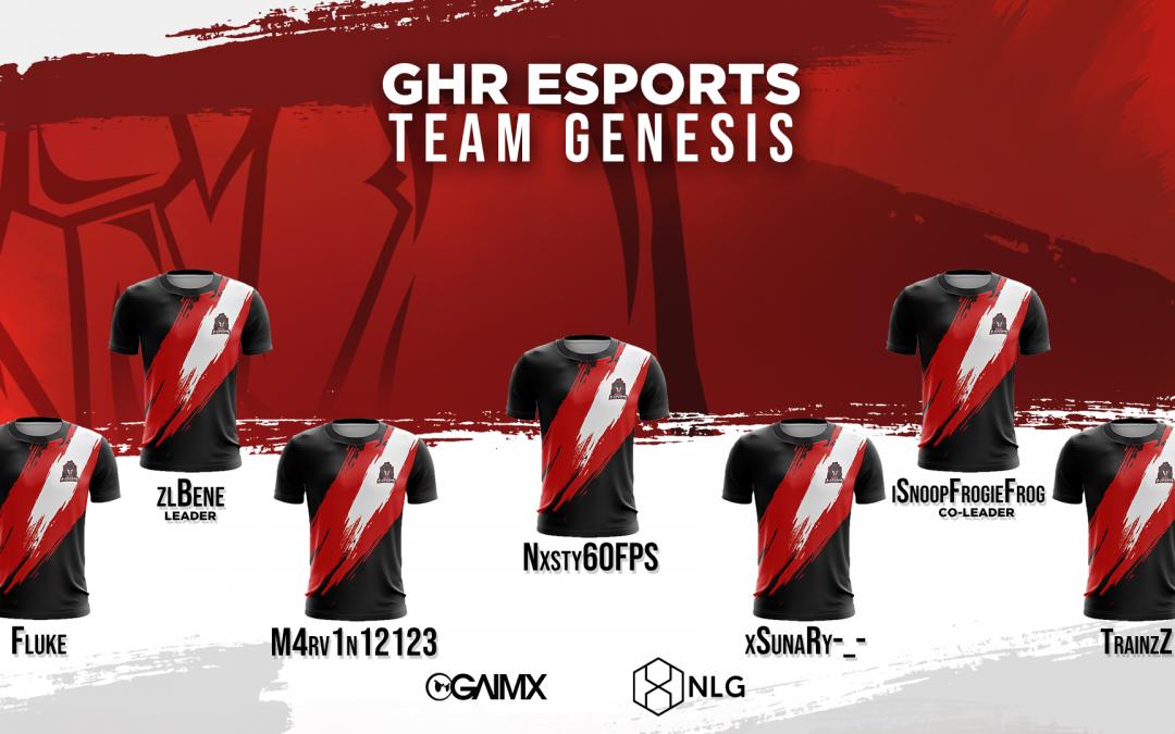 Neues CoD Team | Vorstellung Team Genesis