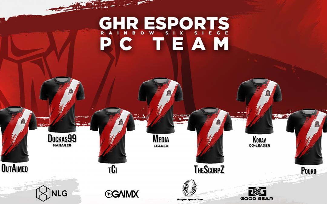 New Rainbow Six PC Team | Vorstellung