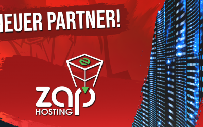 Neuer Partner – ZAP Hosting